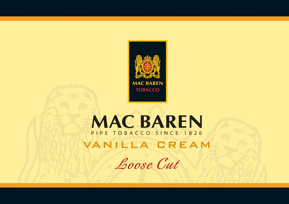 mac baren tobacco vanilla cream
